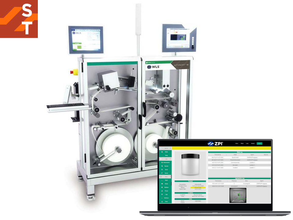 Product Serialization & Tracking Software